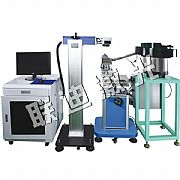 Fiber marking machine vibration plate