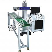 CO2 laser marking machine assembly line