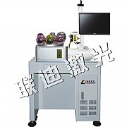 Automatically rotating fiber marking machine